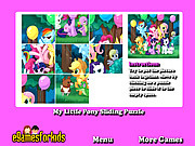 My Little Pony Sliding Puzzle