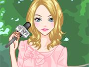 News Reporter Girl
