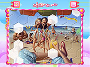 On The Beach Hexagon Puzzle