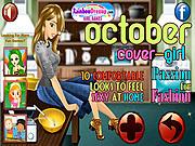 October Cover Girl