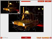 Paris Taxi Jigsaw