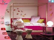 Pink Living Room Hidden Obect