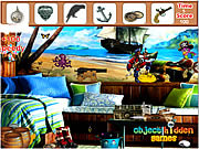 Play Pirate Room Hidden Objects