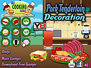 Pork Tenderloin Decoration