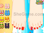 Pretty Pedicure Games