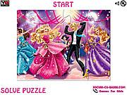 Princess Charm School  Party Jigsaw