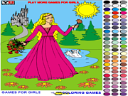 Princess Coloring 2