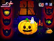 Pumpkin Decoration Happy Halloween Day