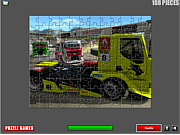 Racing Trucks Puzzle
