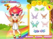 Rainbow Fairy Dress UP