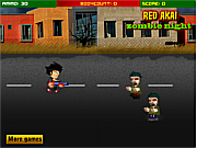 Redakai against  Zombie