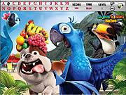 Rio and Kong Hidden Alphabets