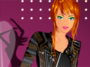 Rock Performer Dressup
