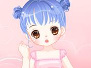 Romantic Little Flower Girl