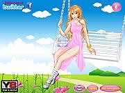 Swing Flying Girl