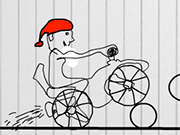 Santa Claus Christmas Bike Adventure