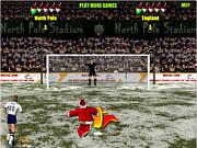 Santa\'s penalty kick world cup