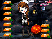Scary Cute Girl Dress Up