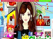 Shopping Girl Hidden Letters