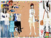 Shopping Girl Dress Up