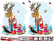 Snow Christmas 5 Differences