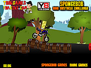 Spongebob Bike Obstacle Challenge