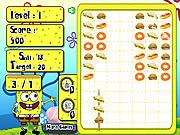 Spongebob Food Skewer
