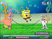 Spongebob Rope Skipping