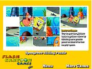 Spongebob Sliding Puzzle