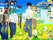Spring Couple Dress Up