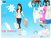 Play Spring Hat Dressup