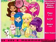Play Strawberry Shortcake Hidden Numbers Game