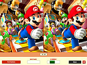 Super Mario - Find the Differences