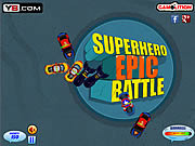 Superhero Epic Battle