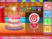 Sweet Lollipop Cake
