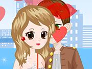 Sweet Valentine Kiss Dres…