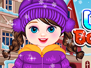 Sweet Winter Baby Dress