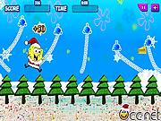 Swinging SpongeBob Xmas