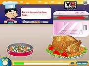 Thanksgiving Turkey Cooking