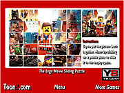 The Lego Movie Sliding Puzzle