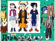 Naruto Character Dressup
