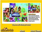 Tinkerbell Sliding Puzzle