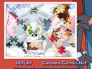 Tom and Jerry Sorty My Jigsaw