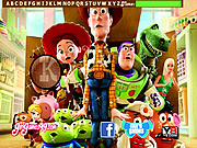 Toy Story 3 Hidden Letters