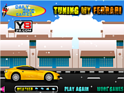 Tuning My Ferrari Game