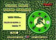 Turtle Ninja Sound Memory