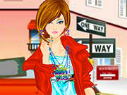 Unique Street Girl Dressup