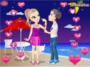 Valentine Kissing Couple