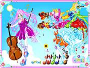 Play Violin Dressup