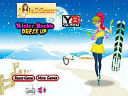 Winter Barbie Dress Up